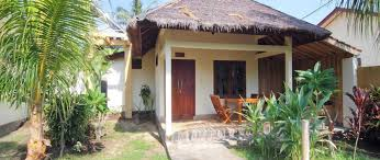 coconut dream bungalow gili trawangan indonesia