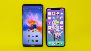 Shoo Vs apple iphone x and huawei mate 10 pro comparison point and