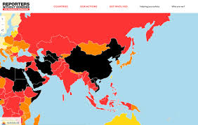 Taiwan Map Asia by Taiwan Ranks Top In Asia In Media Freedom Taiwan News