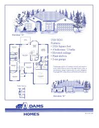 Home Plans Floor Plans by Cape Coral South Adams Homes Adam Homes Floor Plans Crtable