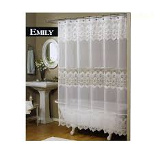 42 best shabby chic shower curtains images on pinterest curtains