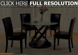 Glass Top Kitchen Table by Accessories Stunning Ultramodern Round Glass Dining Table Set