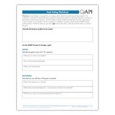 qapi goal setting worksheet atom alliance