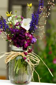 jar flowers let s talk wedding trends jar flowers twine and flower