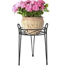 plant pot stands outdoor 118 trendy interior or tier bronze