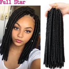 soft dread hair lengths 14 freetress soft faux locs crochet hair braid curly crochet faux