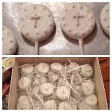 1st communion favors dipped oreo communion favors pinspirations executed