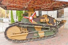french renault tank warsaw poland october 20 2014 french light tank renault