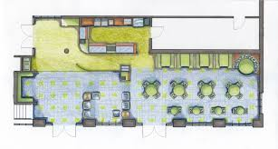 floor plan design coffee shop home pattern