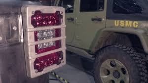 rugged ridge elite tail light guards rugged ridge elite tail light guard torture test for jeep wrangler