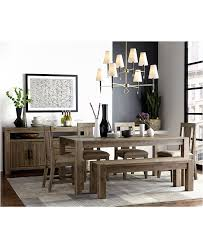 dining room dining tables with benches and chairs macys dining