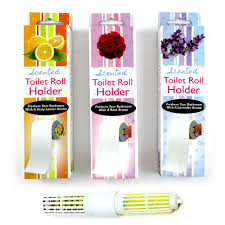 4 scented toilet paper rollers tissue roll holder replacement