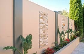 Backyard Feature Wall Ideas Textured Feature Wall Ideas For Your Backyard Modularwalls