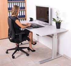 Schreibtisch 90 Cm Breit Elektrisch Höhenverstellbarer Schreibtisch Von Dila 180 Cm Breit