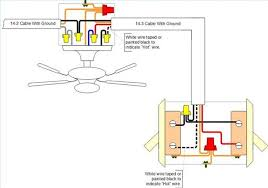 how to wire a ceiling fan with 4 wires how to install a ceiling fan in a location without existing power