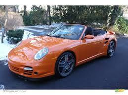 porsche orange 2009 orange paint to sample porsche 911 turbo cabriolet 6561828