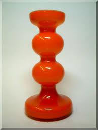 Vintage Orange Glass Vase Empoli Cased Orange Glass Vase Glass Empoli Pinterest