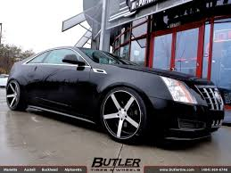 cadillac cts coupe rims cadillac cts v coupe with 20in vossen cv3 wheels exclusively from