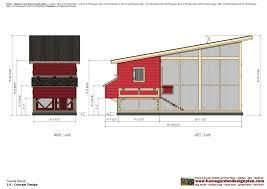 Chicken Coop Floor Plan Home Garden Plans M100 Chicken Coop Plans Chicken Coop Design