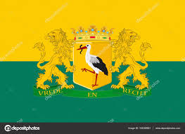 Flag Of Netherlands Flag Of The Hague Of Netherlands U2014 Stock Photo Dique Bk Ru