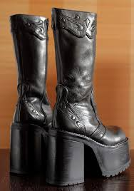 womens boots made in spain original buffalo high platform boots 38 eur 7 1 2 us