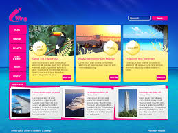 web page design web page design for travel website moonmicrosystem
