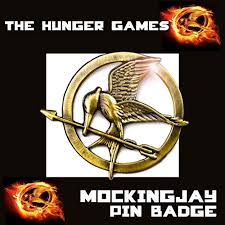 the hunger games mockingjay pin badge brooch catching fire