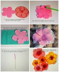 hibiscus tutorial dreamy cake tutorials pinterest hibiscus