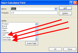 Excel 2010 Pivot Table Excel 2010 Pivot Tables How To Delete Calculated Fields In Pivot
