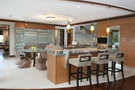 Bar Stools Miami Miami Luxury Bar Stools Kitchen Contemporary With Windows And