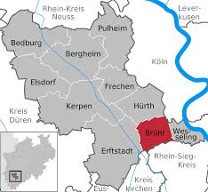 Cologne Germany Map by
