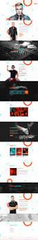 perfectbeat creative dj booking agency psd template by vinyljunkie