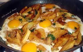 cuisine de meriem batata berrania la cuisine de meriem