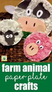 farm animal friends a paper plate crafts for kids