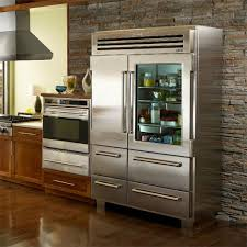 glass front refrigerator for home home designing ideas