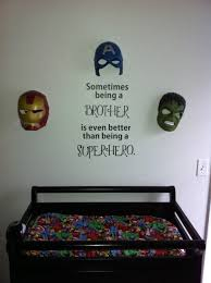 Twin Boy Nursery Decorating Ideas by My Twin Boys Marvel Nursery The Boys Pinterest Marvel