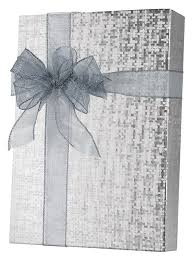 foil wrapping paper silver spun sheen embossed foil gift wrap innisbrook wrapping paper