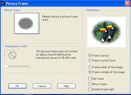 adding a picture frame to an image in paintshop pro u2013 knowledge base