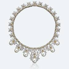 diamond style necklace images Necklaces buccellati official png