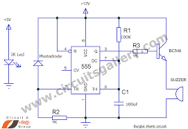 simple fire alarm thermistor circuit diagram circuits gallery