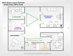 visio office layout plans solution conceptdraw com building plan