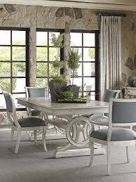Dining Room Furniture Pittsburgh by Oyster Bay Montauk Rectangular Dining Table With Slate Blue