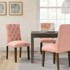 Brookline Tufted Dining Chair Brookline Tufted Dining Chair Blush Threshold Target
