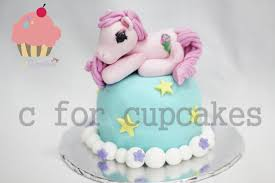 my little pony 3d cake cupcakes singapore hand carve figurines