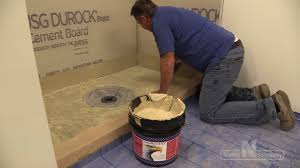 Chloraloy Shower Pan by Nobleseal Ts Installation Youtube