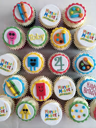 mister maker birthday cupcakes birthday ideas gifts pinterest