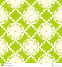 Block Print Wallpaper Simple Elegant Seamless Vector Pattern Royalty Free Stock Photo