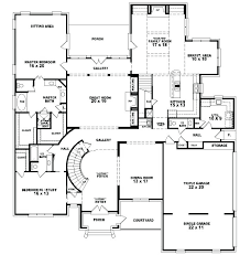 house plans 5 bedroom 5 bedroom home design two story house plans home design ideas