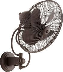 14 inch wall fan international 94144 86 piazza 14 inch wall fan in oiled bronze with