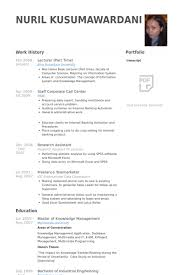 Resume Samples For Lecturer In Engineering College by Part Time Resume Samples Visualcv Resume Samples Database